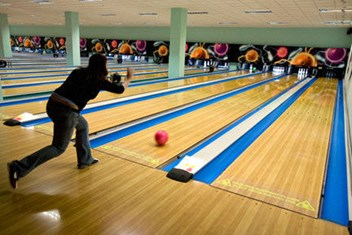 indoor activities - ten pin bowling - recreation for rainy days
